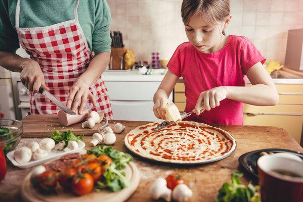 COME CUCINARE LA TUA PIZZA BOX EXPERIENCE® CON I BAMBINI