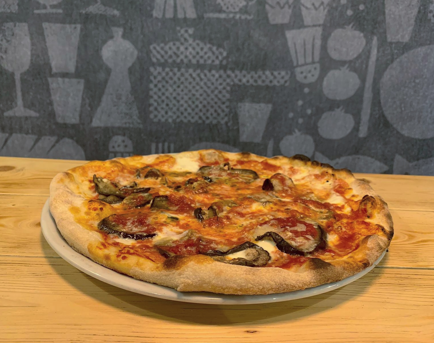 LA PIZZA PARMIGIANA